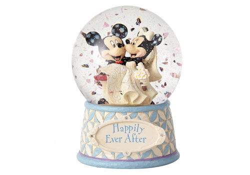 Disney Traditions Happily Ever After (Mickey & Minnie Waterball) - Disney Traditions