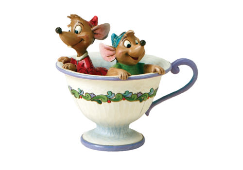 Disney Traditions Tea For Two (Jaq & Gus) - Disney Traditions