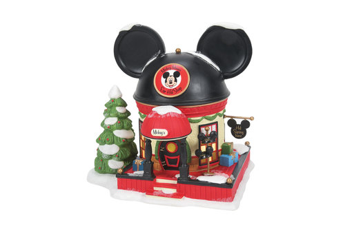 Disney Village by Department 56 Mickey's Ear Hat Shop - Disney Village by D56