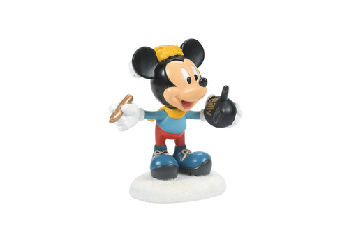 Disney Village by Department 56 Mickey's Finishing Touches Figurine - Disney Village by D56