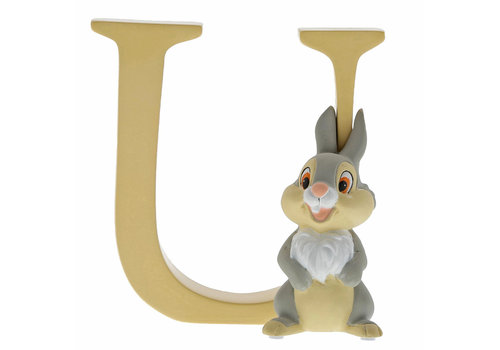 "Enchanting Disney Collection ""U"" - Thumper - Enchanting Disney Collection"