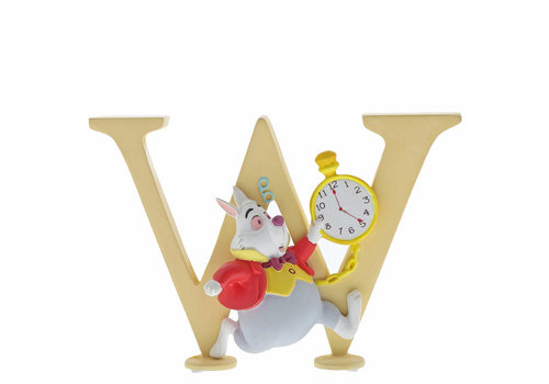 "Enchanting Disney Collection ""W"" - White Rabbit - Enchanting Disney Collection"