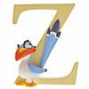 "Enchanting Disney Collection Enchanting Disney Collection - ""Z"" - Zazu"