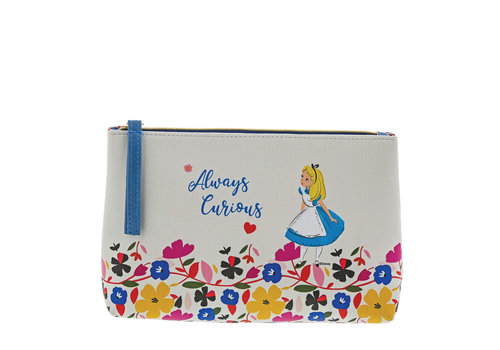 Enchanting Disney Collection Alice in Wonderland Cosmetic Bag - Enchanting Disney Collection