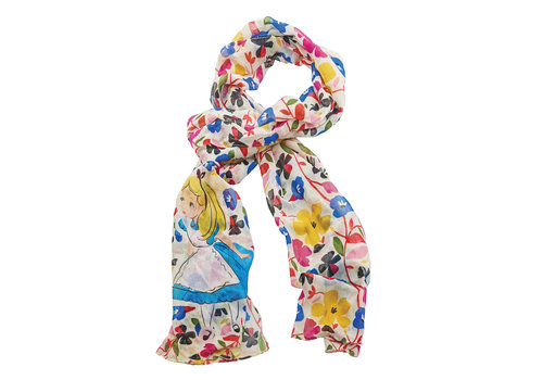 Enchanting Disney Collection Alice in Wonderland Scarf - Enchanting Disney Collection