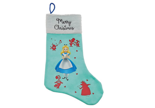 Enchanting Disney Collection Alice in Wonderland Stocking - Enchanting Disney Collection