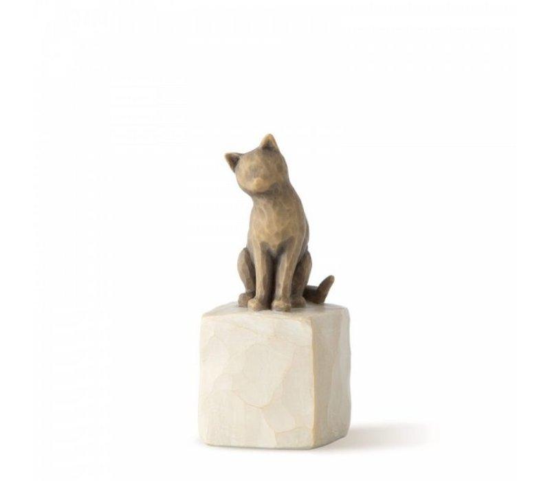 Willow Tree - Love my Cat (dark)