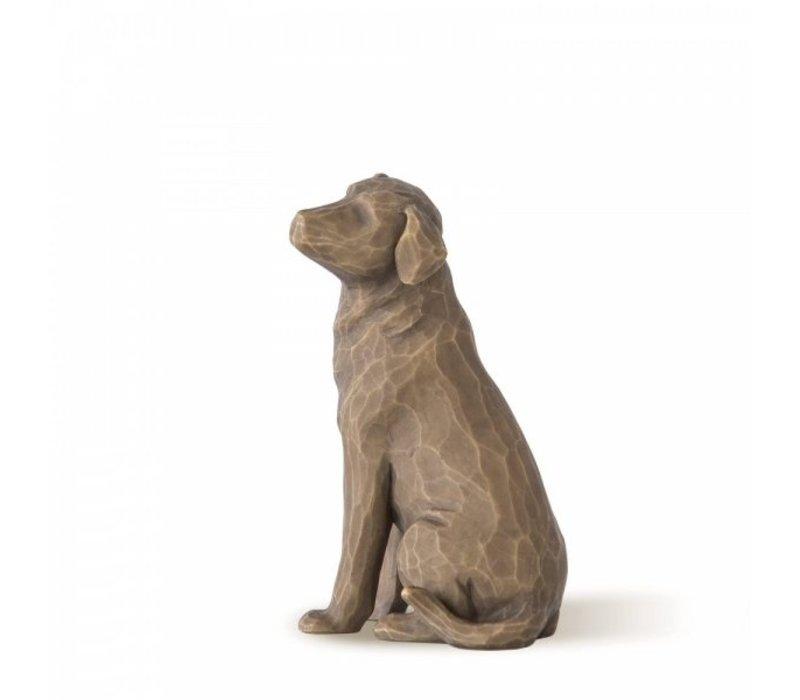 Willow Tree - Love my Dog (dark)