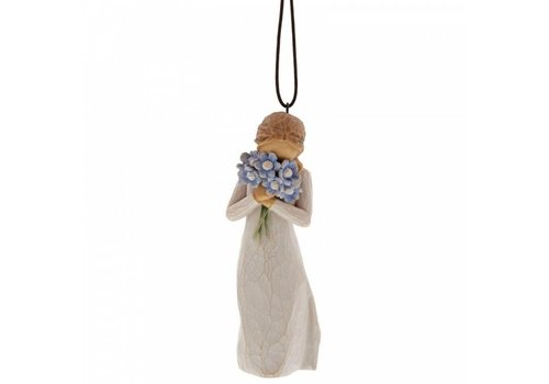 Willow Tree Forget me not Ornament - Willow Tree