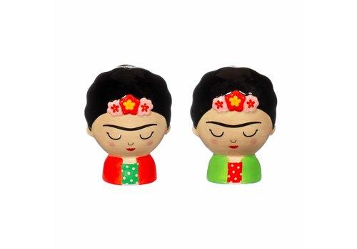 Sass & Belle Frida Kahlo peper en zoutstel - Sass & Belle