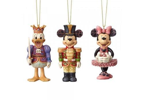 Disney Traditions Nutcracker Hanging Ornament (Set of 3) - Disney Traditions
