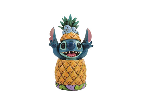 Disney Traditions Stitch in a Pineapple - Disney Traditions