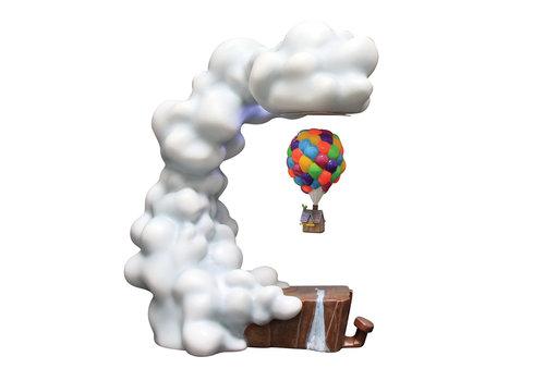 Grand Jester Studios Pixar UP Levitating House Masterpiece - Grand Jester Studios