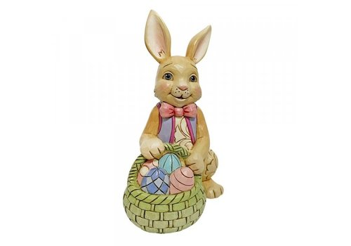 Heartwood Creek Bunny With Easter Basket Mini - Heartwood Creek