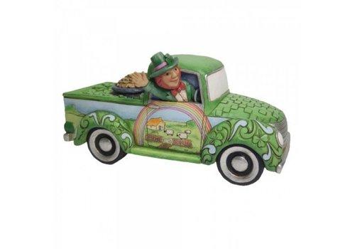 Heartwood Creek Truck Load Of Luck (Leprechaun in Green Truck - Heartwood Creek