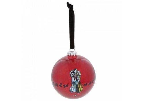 Enchanting Disney Collection One Classy Devil (Cruella De Vil kerstbal) - Enchanting Disney Collection