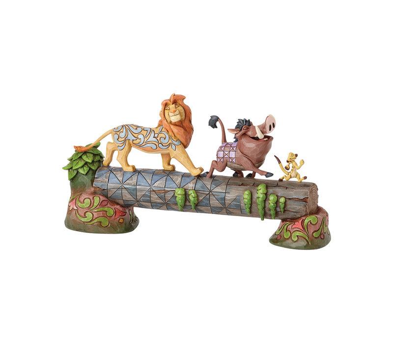 Disney Traditions - Carefree Camaraderie (Simba, Timon, & Pumbaa)
