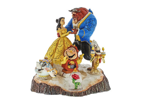Disney Traditions Tale as Old as Time (Carved by Heart Beauty & The Beast) - Disney Traditions