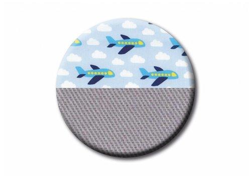 Ruckeli Ruckeli Planes Grey Slim - Limited Edition