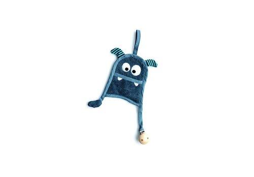 Timboo Fopspeenknuffel Monster Marin
