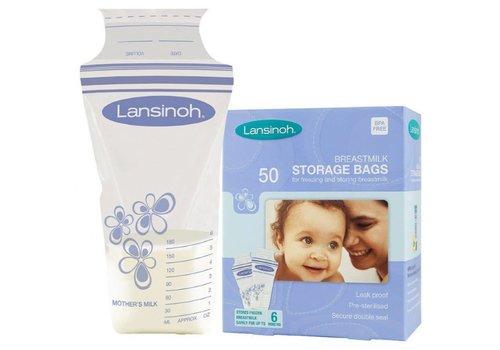 Lansinoh Lansinoh Moedermelk bewaarzakjes 50st