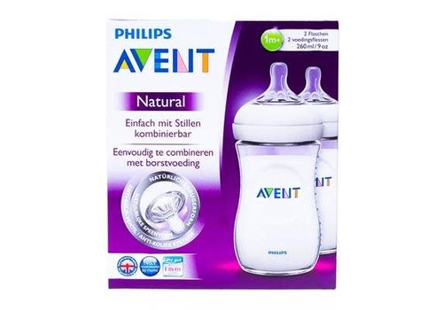 Avent Avent Natural zuigfles 260ml DUO