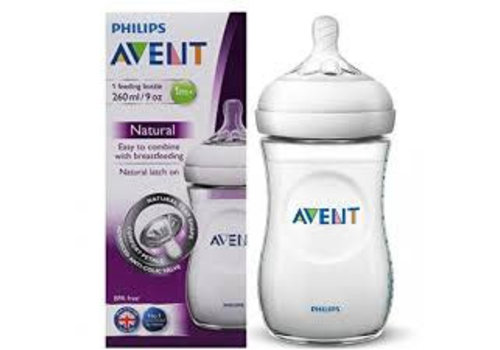 Avent Avent Natural zuigfles 260ml