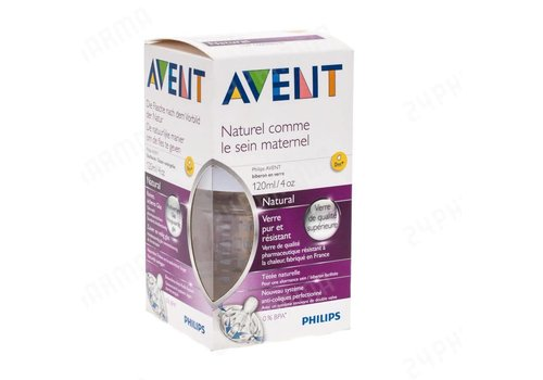 Avent Avent Natural 2.0 zuigfles 120ml Glas