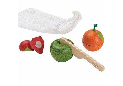 plan toys Fruit Set In Zakje