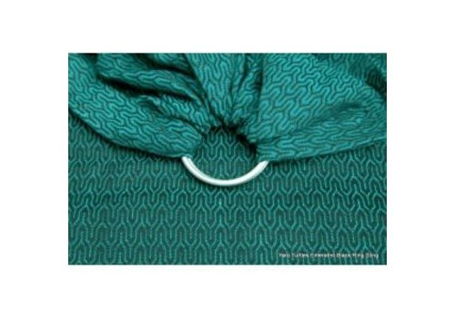 Yaro Turtle Emerald-Black Ring Sling