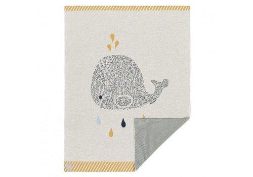 lassig Lässig Deken Little Water Whale