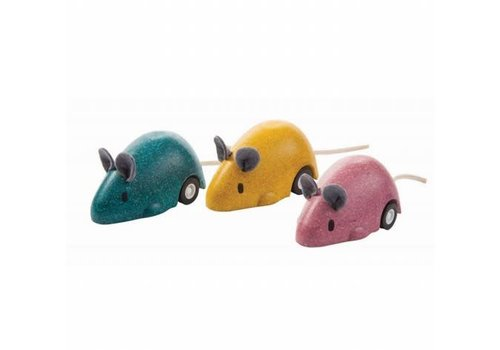 plan toys Pull-back muisjes