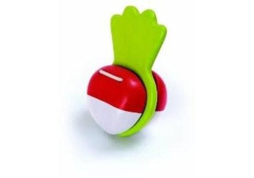 plan toys Houten Klapper Radijs
