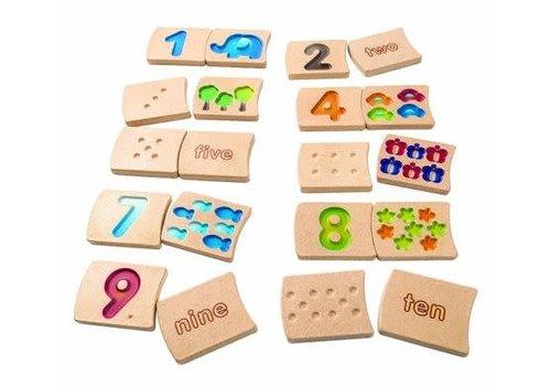 plan toys Nummers 1-10 (Gradient)