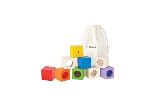 plan toys Activiteiten Blokken