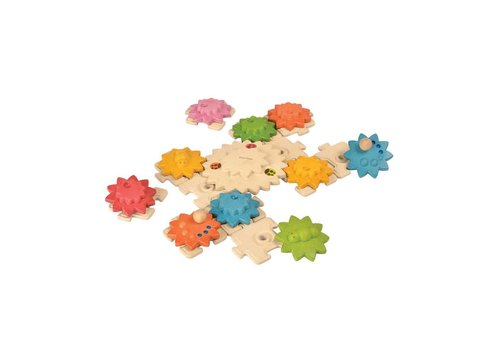 plan toys Gears & Puzzles - Deluxe