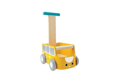 plan toys Loopwagen geel