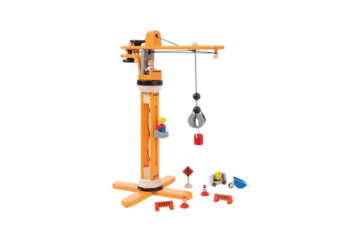 plan toys Kraan Set