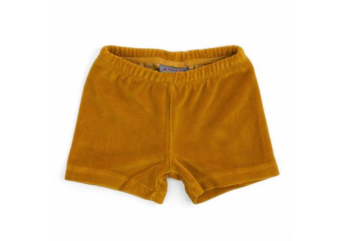 Froy & Dind Short Mosterd Velours