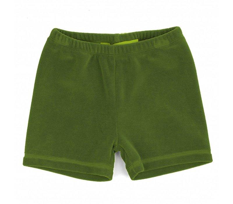 Short Alpine Green Velours