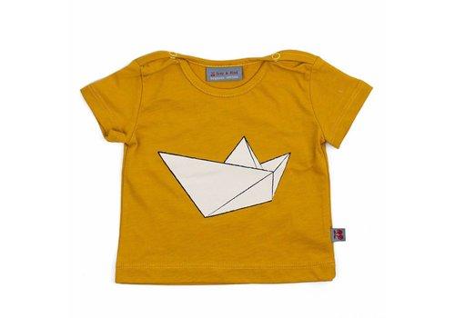 Froy & Dind Shirt Tito Summer Mustard 50/56