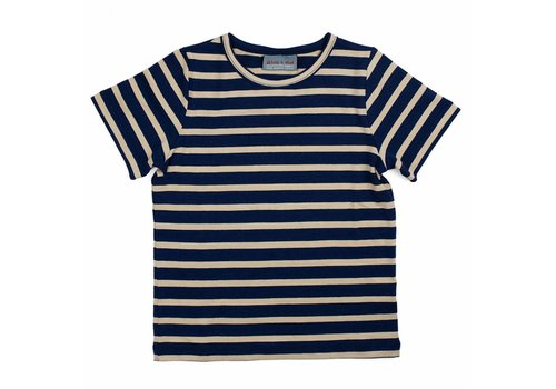 Froy & Dind Shirt Bas Stripes Marine