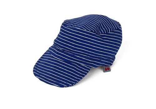 Froy & Dind Zonnepet Stripes Hip Blue
