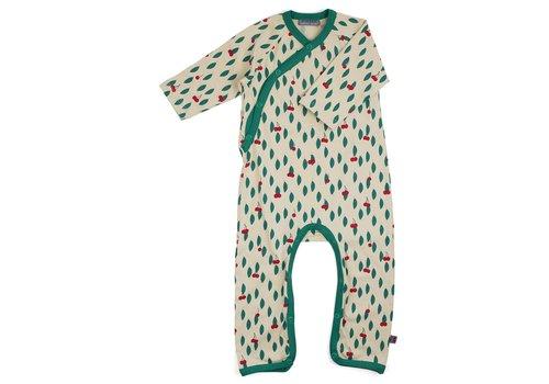 Froy & Dind Jumpsuit zonder voetjes - Cherry