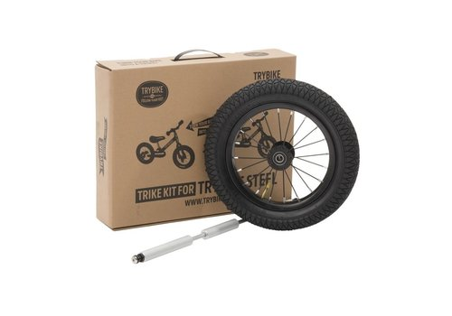 Trybike Trybike Trike kit Zwart Wiel