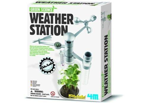 4M 4M Kidzlabs Green Science  Weerstation