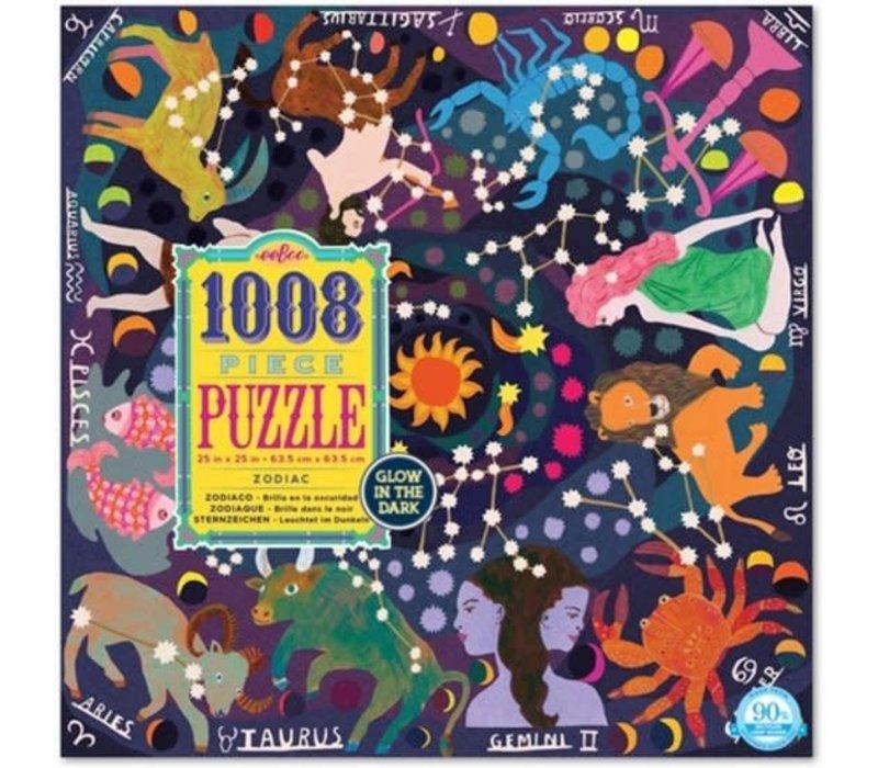 Eeboo Puzzel Familie 1008-delig 'Dierenriem'