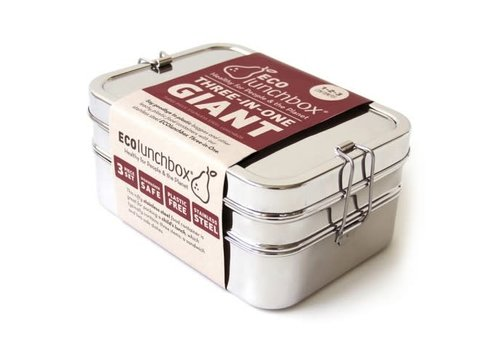 Eco Lunchbox Ecolunchbox Three-in-one Giant