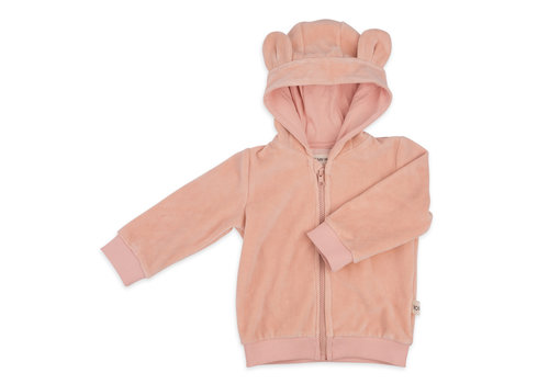 We Say No Hoodie Balou Pink Sand Velvet