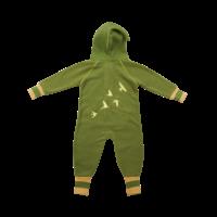 Ducksday Fleece Suit Green/Yellow